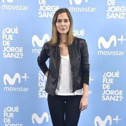 Natalia Sánchez en el estreno de '¿Qué fue de Jorge Sanz?'