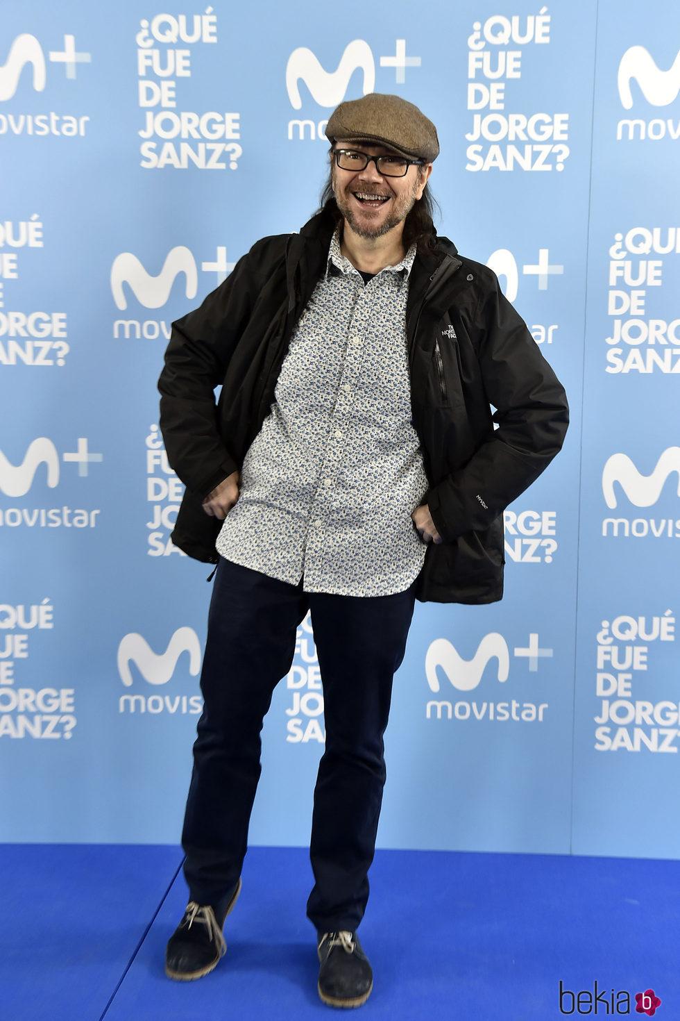 Santiago Segura en el estreno de '¿Qué fue de Jorge Sanz?'
