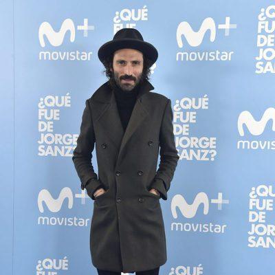 Leiva en el estreno de '¿Qué fue de Jorge Sanz?'