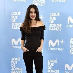 Macarena García en el estreno de '¿Qué fue de Jorge Sanz?'