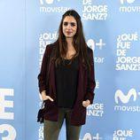 Elena Furiase en el estreno de '¿Qué fue de Jorge Sanz?'