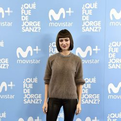 Úrsula Corberó en el estreno de '¿Qué fue de Jorge Sanz?'