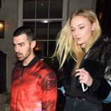 Sophie Turner y Joe Jonas celebrando el cumpleaños de ella en Londres