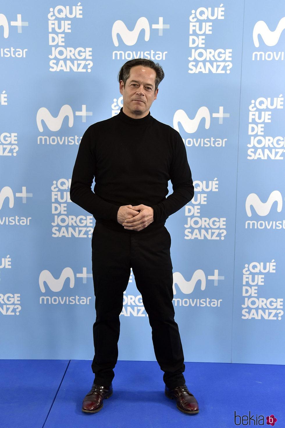 Jorge Sanz en el estreno de '¿Qué fue de Jorge Sanz?'