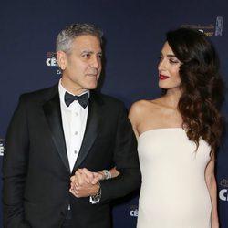 George Clooney y Amal Alamuddin en los Premios César 2017