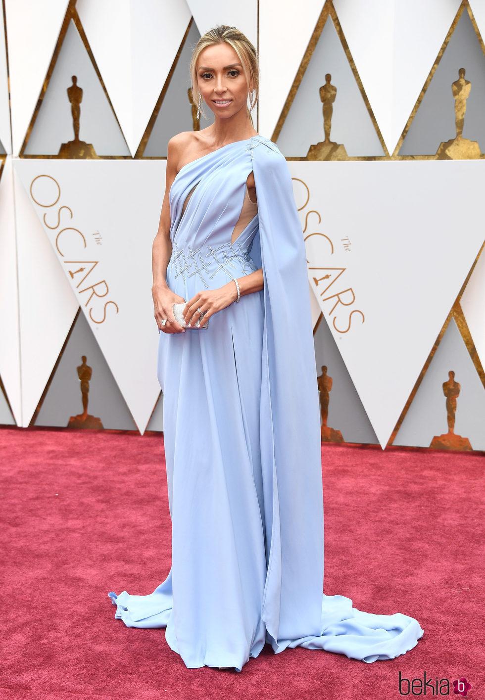 Giuliana Rancic en la alfombra roja de los Premios Oscar 2017