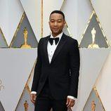 John Legend en la alfombra roja de los Premios Oscar 2017