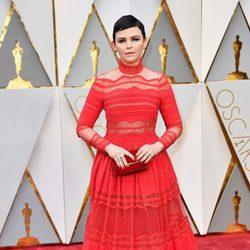 Ginnifer Goodwin en la alfombra roja de los Premios Oscar 2017