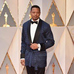 Terrence Howard en la alfombra roja de los Premios Oscar 2017
