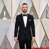 Justin Timberlake en la alfombra roja de los Premios Oscar 2017