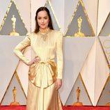 Dakota Johnson en la alfombra roja de los Premios Oscar 2017