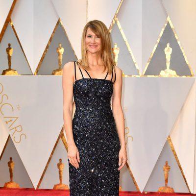 Laura Dern en la alfombra roja de los Premios Oscar 2017