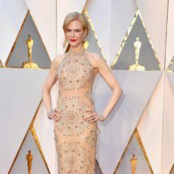 Nicole Kidman en la alfombra roja de los Premios Oscar 2017
