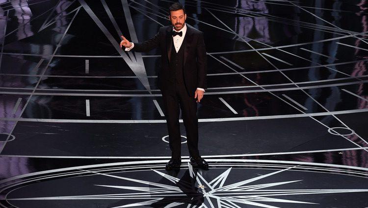 Jimmy Kimmel abriendo la gala de los Oscar 2017
