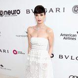Paz Vega en la fiesta de la Fundación Elton John por los Premios Oscar 2017