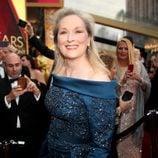 Meryl Streep en la alfombra roja de los Premios Oscar 2017