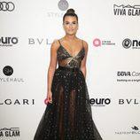 Lea Michele en la fiesta de la Fundación Elton John por los Premios Oscar 2017
