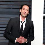 Adrien Brody en la fiesta de Vanity Fair de los Premios Oscar 2017