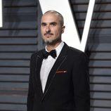 El DJ Zane Lowe en la fiesta de Vanity Fair de los Premios Oscar 2017