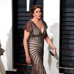 Caitlyn Jenner en la fiesta de Vanity Fair de los Premios Oscar 2017