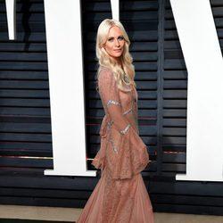 Poppy Delevingne en la fiesta de Vanity Fair de los Premios Oscar 2017