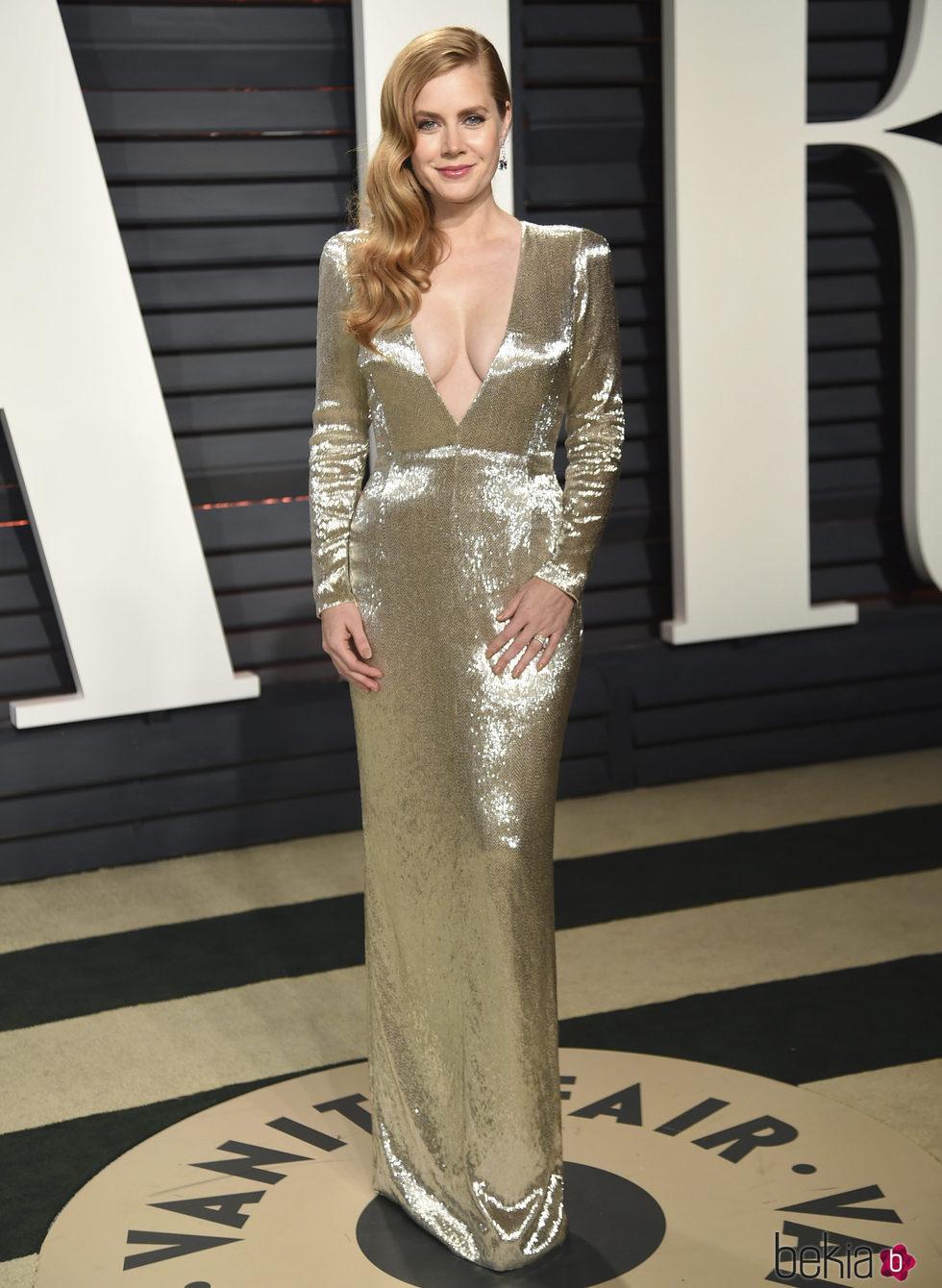 Amy Adams en la fiesta de Vanity Fair de los Premios Oscar 2017