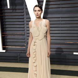Rooney Mara en la fiesta de Vanity Fair de los Premios Oscar 2017