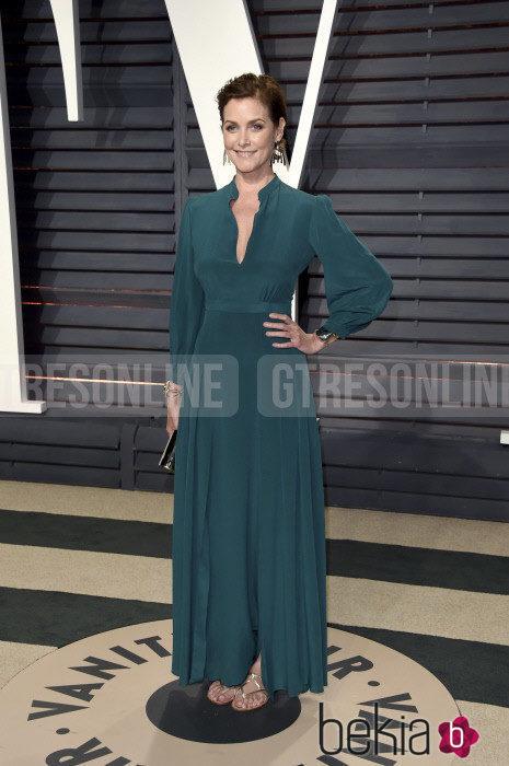 Carey Lowell en la fiesta de Vanity Fair de los Premios Oscar 2017
