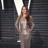Sofía Vergara en la fiesta de Vanity Fair de los Premios Oscar 2017