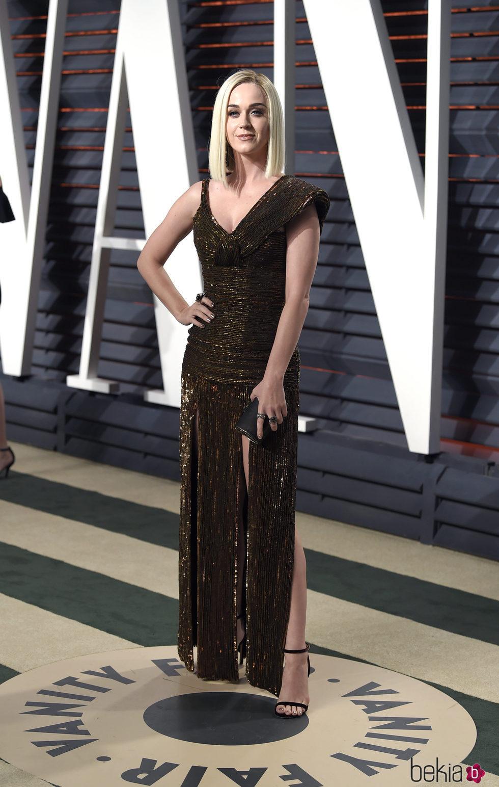 Katy Perry en la fiesta de Vanity Fair de los Premios Oscar 2017