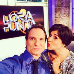 Alejandra Castelló y Javier Cárdenas en el programa 'Hora Punta'