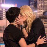 El famoso beso entre Carolina Cerezuela y Alejandra Castelló en 'Hora Punta'