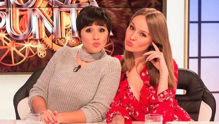 Alejandra Castelló y Esmeralda Moya en 'Hora Punta'