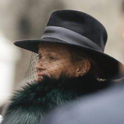 Kate Moss en el funeral de Franca Sozzani en Milán
