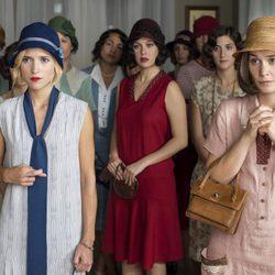 Ana Fernández, Nadia de Santiago y Blanca Suárez en 'Las chicas del cable'