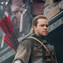 Matt Damon en la película 'La Gran Muralla'
