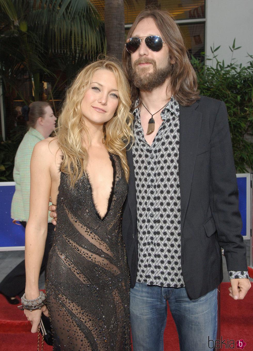 Kate Hudson y Chris Robinson en la premiere de 'The skeleton key'