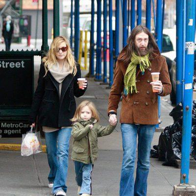 Kate Hudson y Chris Robinson con su hijo Ryder