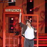 Yolanda Ramos interpretando a Junco en la quinta gala de 'Tu cara me suena 5'