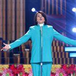 Yolanda Ramos imitando a Jean Jacque en la quinta gala de 'Tu cara me suena 5'