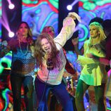 Yolanda Ramos imitando a Janis Joplin en la octava gala de 'Tu cara me suena 5'