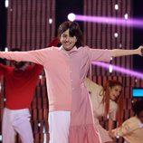 Yolanda Ramos imitando a Enrique y Ana en la decimoquinta gala de 'Tu cara me suena 5'