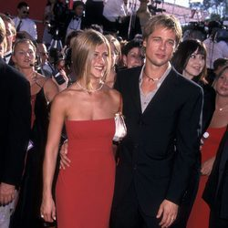 Jennifer Aniston y Brad Pitt en los Annual Primetime Emmy Awards
