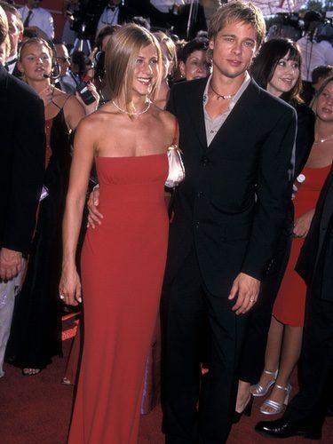 Jennifer Aniston y Brad Pitt en los Annual Primetime Emmy Awards