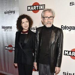 José Sacristán y Amparo Pascual en la alfombra roja de los Premios Fotogramas de Plata 2016