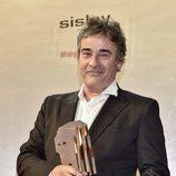 Eduard Fernández con su Fotograma de Plata 2016