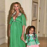 Beyoncé junto a Blue Ivy