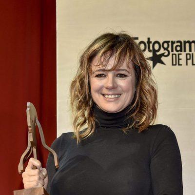Emma Suárez con su Fotograma de Plata 2016