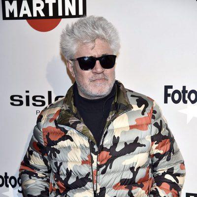 Pedro Almodóvar en la alfombra roja de los Premios Fotogramas de Plata 2016