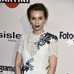 Norma Ruiz en la alfombra roja de los Premios Fotogramas de Plata 2016